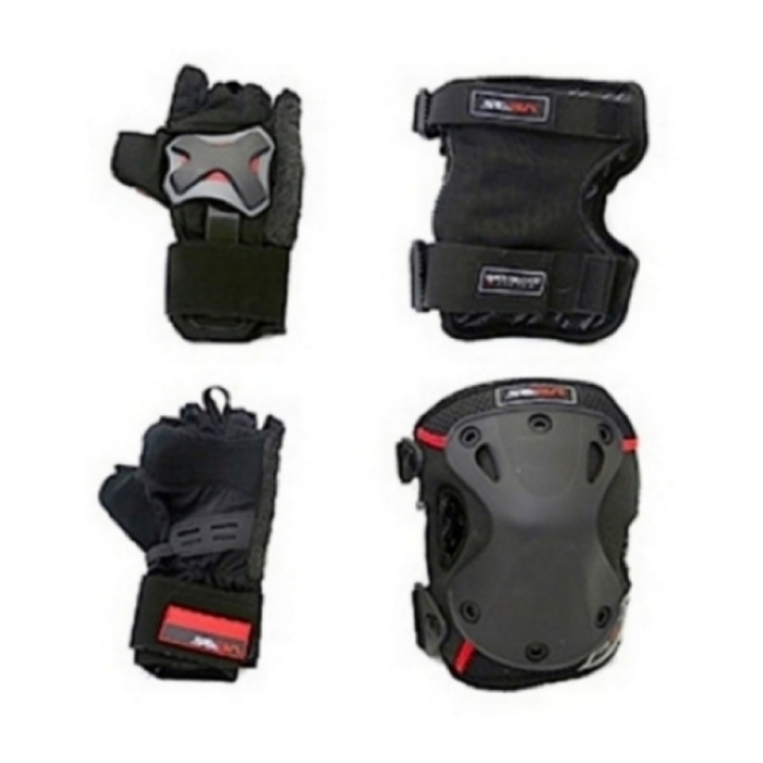 Комплект защиты SEBA Gloves+Knee(with Zip)