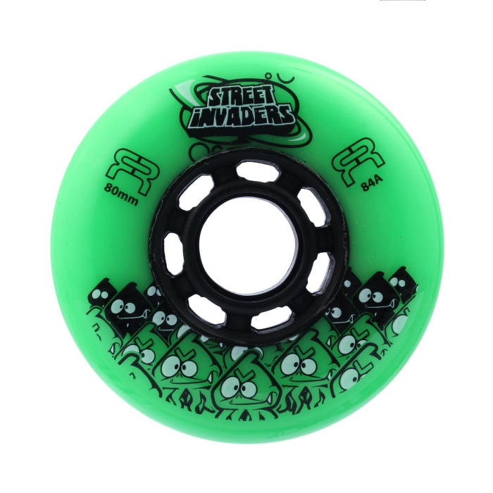Колеса FR WHEELS INVADERS GREEN 80MM/84A